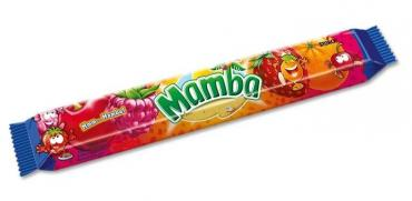 Конфеты Mamba жевательные, 79.5 гр., флоу-пак