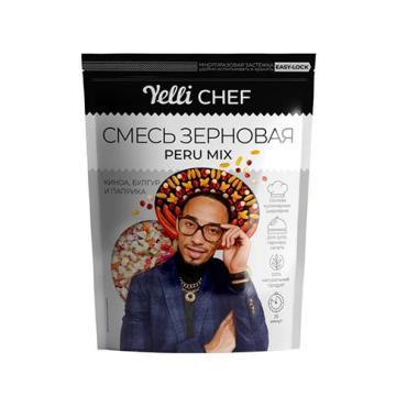 Смесь зерновая Peru mix Yelli Chef,Yelli, 350 гр., флоу-пак