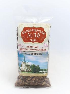 Чай №30 Иван-чай ферментированный, Монастырский, 100 гр., пакет