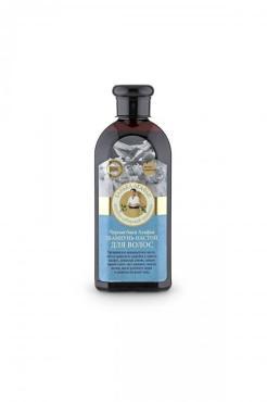 Шампунь-настой для волос Банька Агафьи Черная баня, 350 мл., пластиковая бутылка