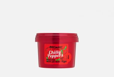 Маска для волос Контрастная Organic kitchen Chilly peppers, 100 мл., пластиковая банка