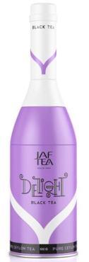 Чай черный Jaf Delight Бутылка сиреневая, 100 гр., жестяная банка