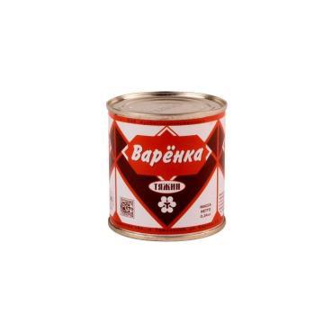 Сгущенное молоко 8,5% Тяжин Варенка, 340 гр., жестяная банка