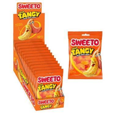 Мармелад кислые мандариновые дольки Sweeto Sour tangy, 80 гр., пластиковый пакет