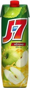 Сок зеленое яблоко осветленный, J7, 200 мл., тетра-пак