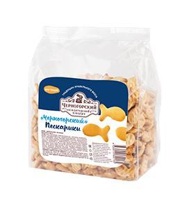 Крекер Черногорский кондитерский концерн Пескарики, 300 гр., пластиковый пакет