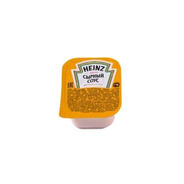 Соус Сырный Heinz 25 мл., пластиковая упаковка