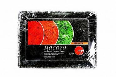 Икра Масаго черная Oshi, 500 гр., ПЭТ