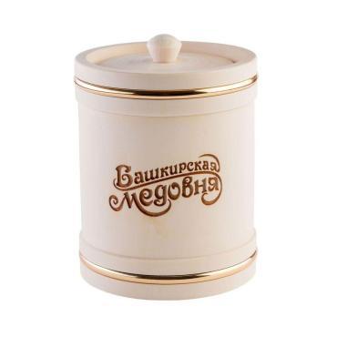Мёд Башкирская медовня цветочный , 1 кг., подарочная упаковка