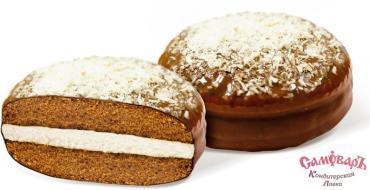 Печенье сдобное глазированное, Домовенок Даня, 2.5 кг., картон