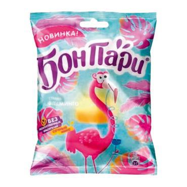 Мармелад жевательный фламинго, БОН ПАРИ, 100 гр, флоу-пак