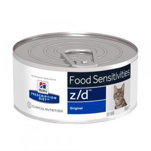Консервы для кошек Hill's Prescription Diet z/d, 156 гр., ж/б