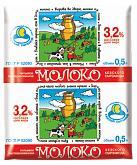 Молоко 3,2% Кезский СЗ, 1 л., пластиковый пакет