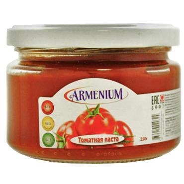 Томатная паста Armenium, 250 гр., стекло