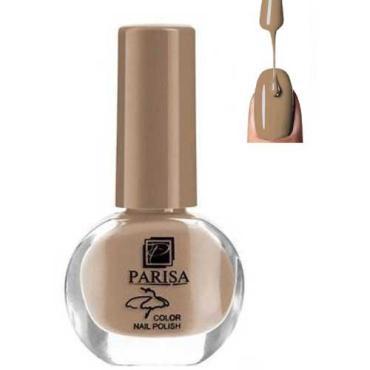 Лак для ногтей, тон 080 бежево-коричневый матовый Parisa Ballet Color Nail Polish, 7 мл., стекло