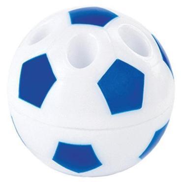 Точилка с контейнером подставка для 4х карандашей пластиковая ассорти Точилка Пифагор Мяч