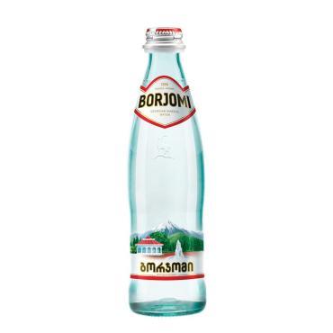 Вода Borjomi природная минеральная ,500 мл.,стекло