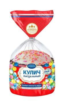 Кулич Пасхальный, с изюмом, 390г