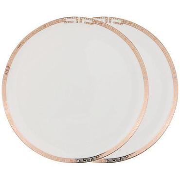 Набор обеденных тарелок 2 предмета 25,5 см., Lefard chic