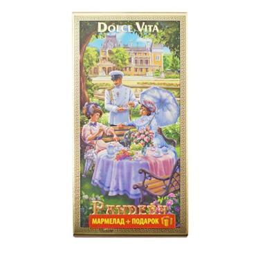 Мармелад малина Dolche vita Рандеву, 155 гр., картон