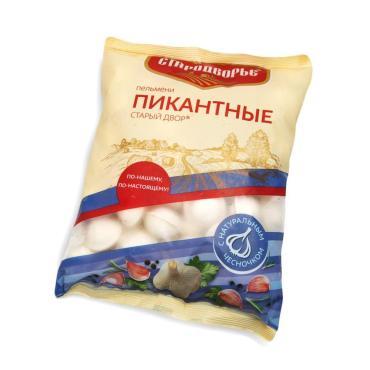 Пельмени Пикантные чесночные Стародворье, 900 гр., флоу-пак
