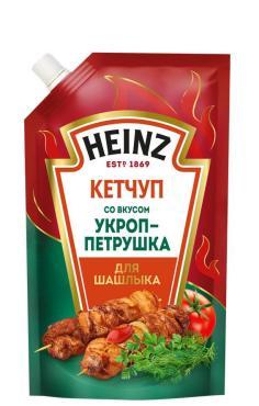 Кетчуп Укроп-Петрушка, Heinz, 320 гр., дой-пак