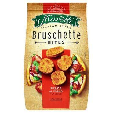 Сухарики Bruschette вкус Пицца Maretti, 70 гр, дой-пак