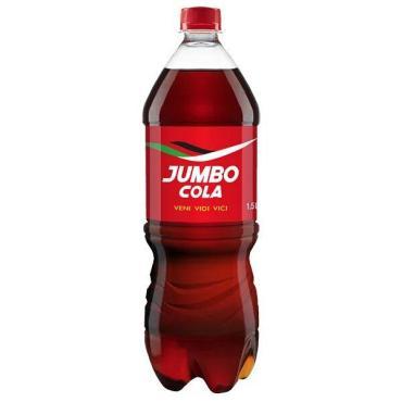 Напиток газированный безалкогольный Cola , Jumbo, 1.5 л, ПЭТ