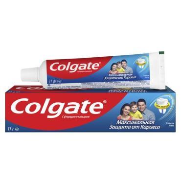 Зубная паста Colgate Максимальная защита от кариеса 50мл