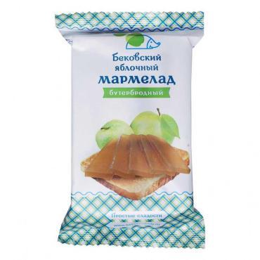 Мармелад Бутербродный Яблочный Бековские сладости, 270 гр., флоу-пак