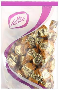 Конфеты шоколадный вкус Белиссимо, Konti Classico, 1 кг., пластиковый пакет