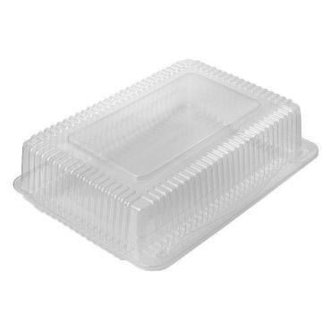 Упаковка одноразовая пластиковая Комус, 800 мл., 185x80x44 мм., прозрачная, ОПС, 480 шт., пластиковый контейнер