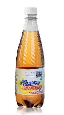 Напиток Танып газированный Лимонад, 0,5 л., пластик