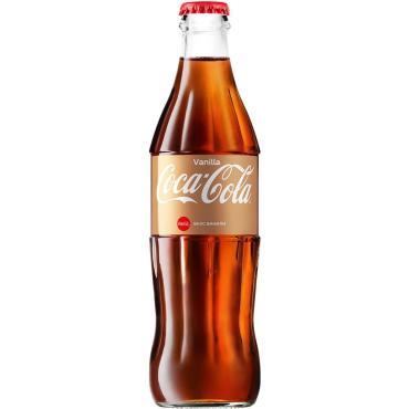 Напиток Coca-Cola газированный Coca Cola Vanilla , 330 мл, стекло