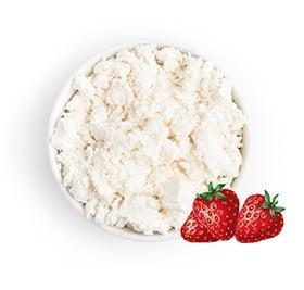 Десерт Киржачский МЗ с змж к завтраку с клубникой 23%, 3 кг., пластиковое ведро