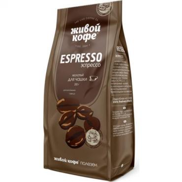 Кофе Живой кофе Espresso для чашки 200 гр