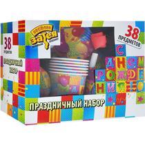 Набор для дня рождения Веселая затея Мозаика, картон