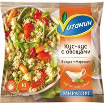 Смесь овощная Vитамин Кус-кус с овощами в соусе Марокко замороженная