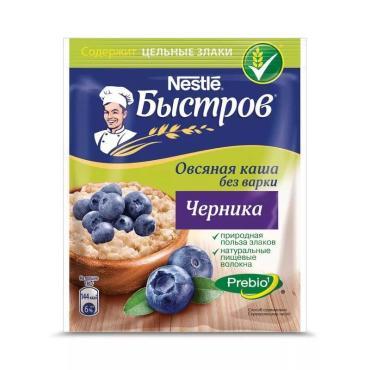 Каша Nestle Быстров с черникой