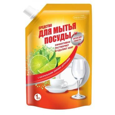 Средство для мытья посуды Vestar с натуральными эфирами цитрусовых