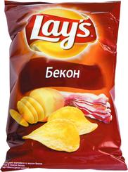 Чипсы Lay's Со вкусом бекона