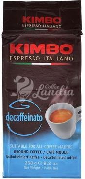 Кофе Kimbo Decaffeinato молотый