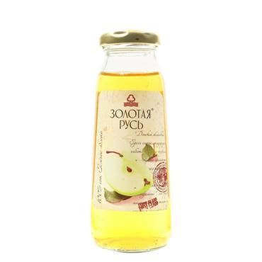 Сок Золотая Русь яблочный осветленный из зелёных яблок 0,2 л.