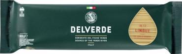 Макароны Delverde Linguine № 012 из твердых сортов пшеницы