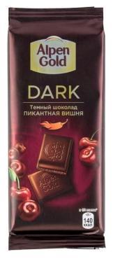 Шоколад Alpen Gold Dark Пикантная вишня