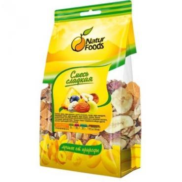 Смесь ореховая Naturfoods сладкая