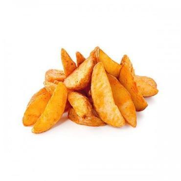 Картофельные дольки в кожурке в специях, заморозка, Польша