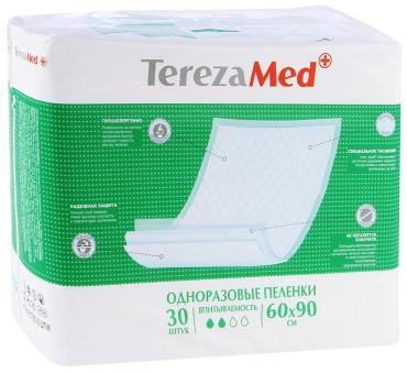 Пеленки одноразовые Tereza Med Normal Впитывающие 60x90см 30шт