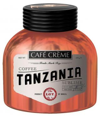Кофе Cafe Creme Tanzania растворимый