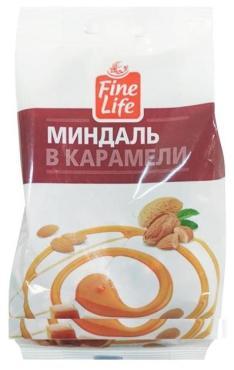 Конфеты Fine Life Миндаль в карамели